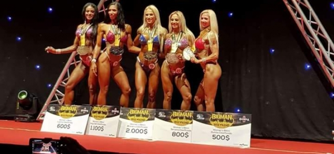 2018 BIGMAN WEEKEND PRO IFBB bikini full results