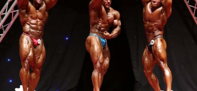 2018 BIGMAN WEEKEND PRO IFBB men's bodybuilding full results